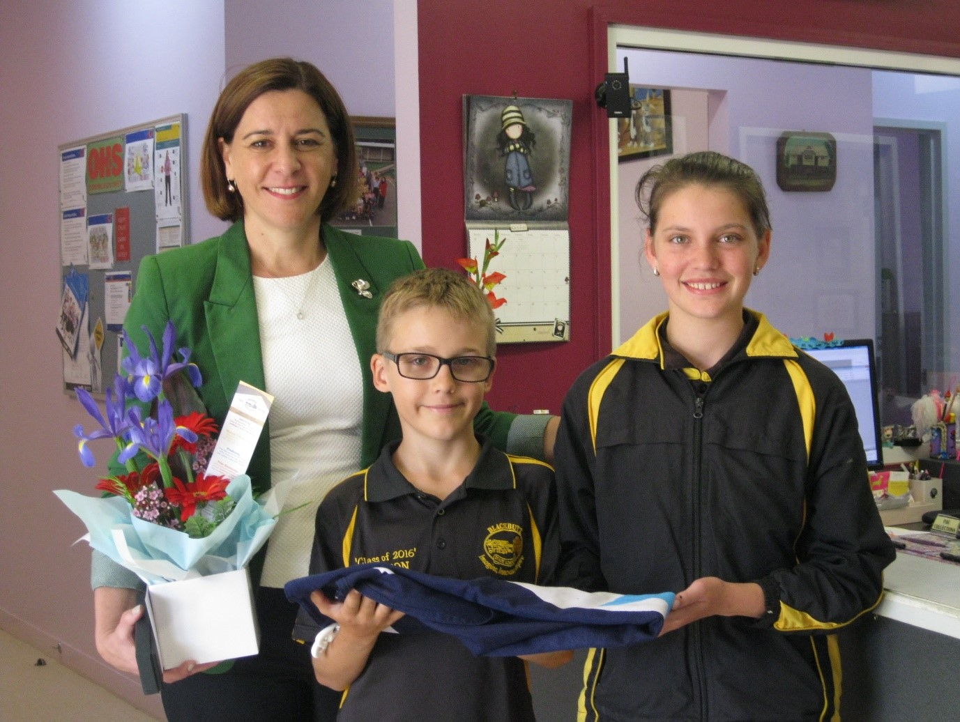 Mrs Deb Frecklington visits Blackbutt State School