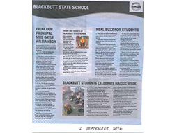 News stories about Blackbutt State School